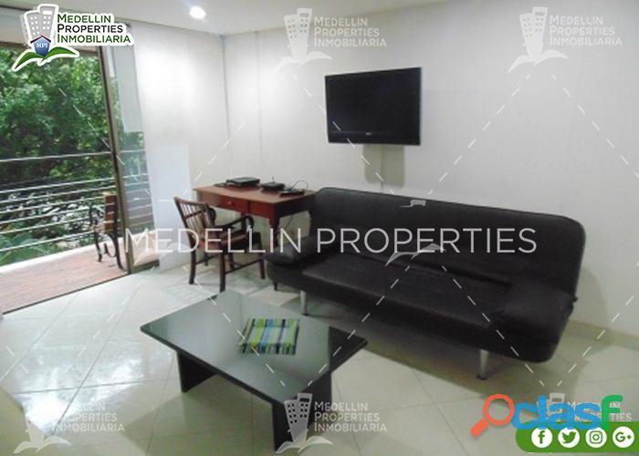 Apartamentos Amoblados en Alquiler Medellín Cód: 4480