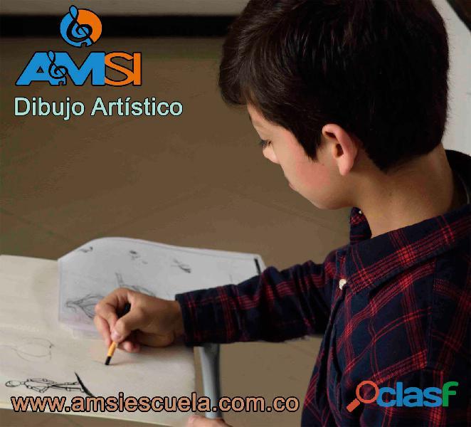 La música y el arte, la mejor opción, clases dibujo y música.