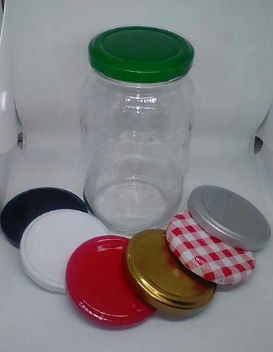 Envase mayonesa 500cc vidrio (tarro de 500cc para alimentos)