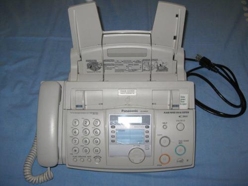 Fax panasonic - kx-fhd331 - como nuevo