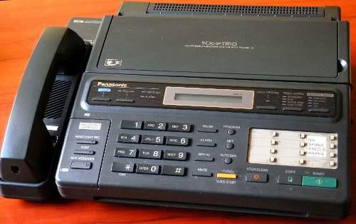 Fax panasonic kxf130 hecho en japon