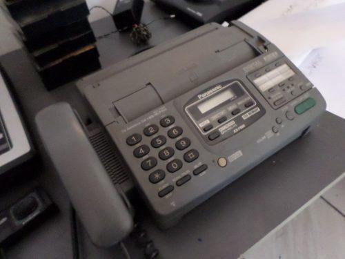 Telefono fax contestador panasonic kx-f880 impecable estado