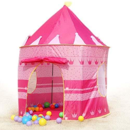 Castillo infantil carpa princesas aire libre e interiores