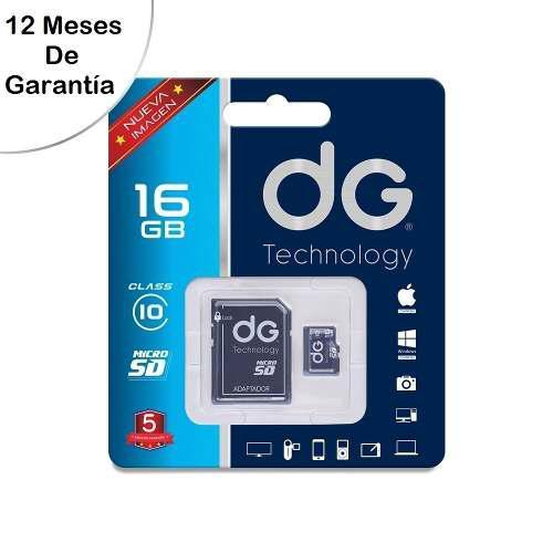 Memoria micro sd 16gb dg original clase 10