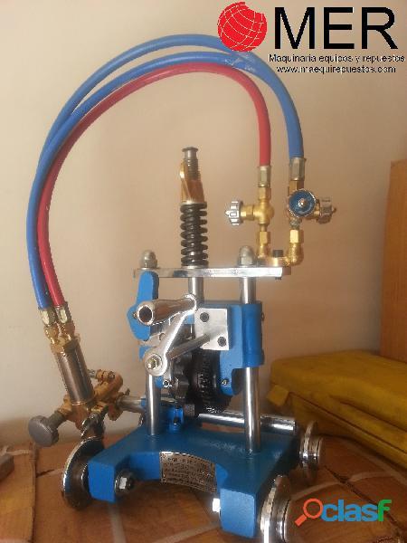 Biseladora manual cg2 11y, llama de corte oxigeno acetileno (u oxigeno propano)