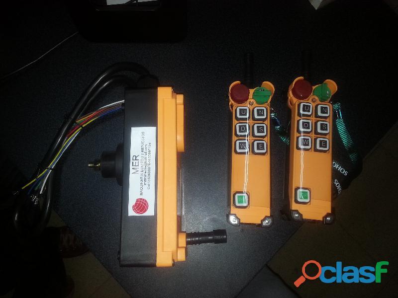 Control remoto (botonera) inalambrico para uso industrial