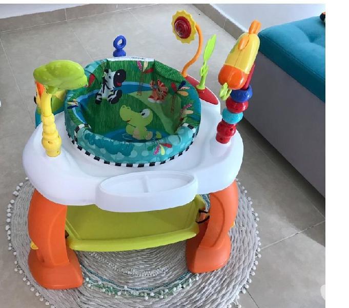 Estacion jumper para bebe rotable 360. usado $150.000