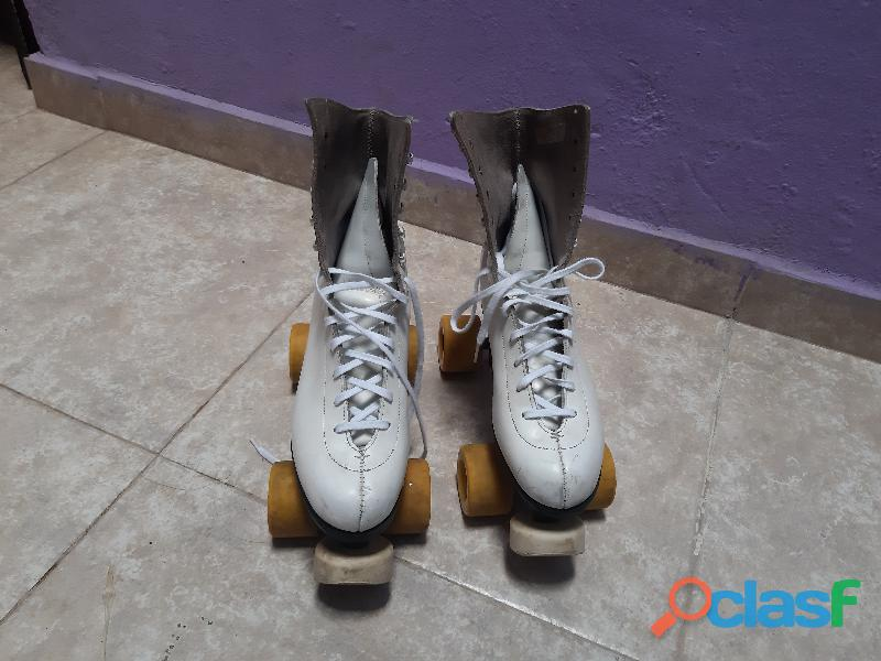 Patines artísticos chicago customm. talla 8