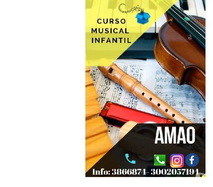 CLASES DE ARTE Y MÚSICA PARA NIÑOS