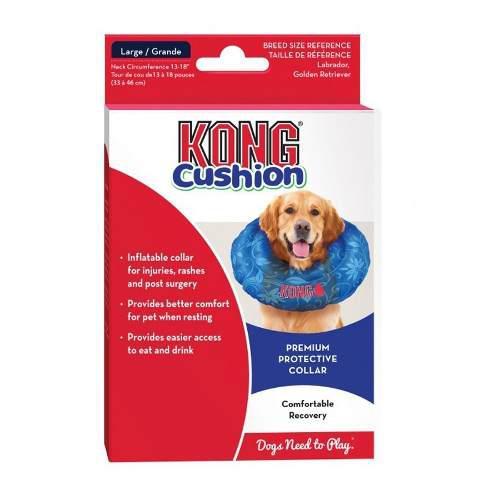 Collar Isabelino Inflable Recuperacion Kong Cushion Large