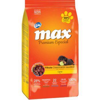 Max Cachorro Sabor A Carne X 15k + Obsequio