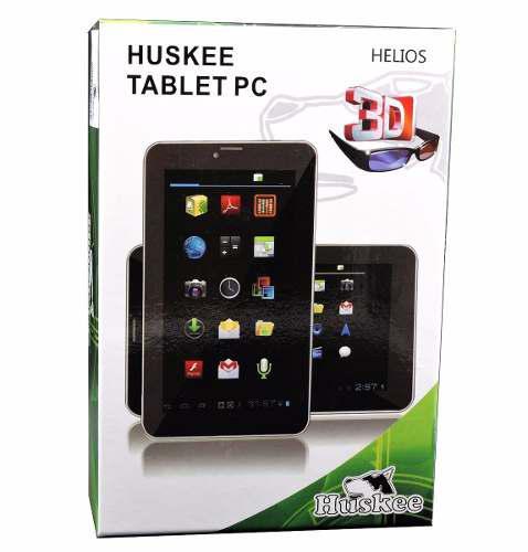 Tablet 7 Huskee Helios Camara Wifi Android 8gb Gafas Simcard