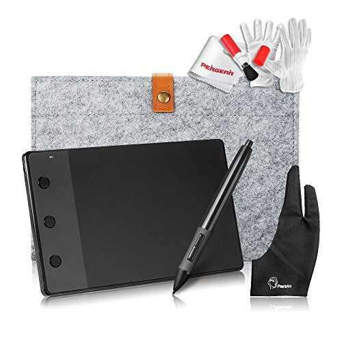 Tableta Grafica Huion H420 Usb + Estuche + Kit