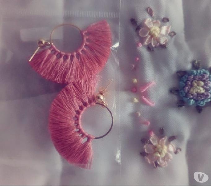 Aretes palo de rosa
