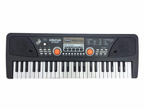 Gran Teclado 47 Organeta Piano Graba +pistas +que Un Juguete