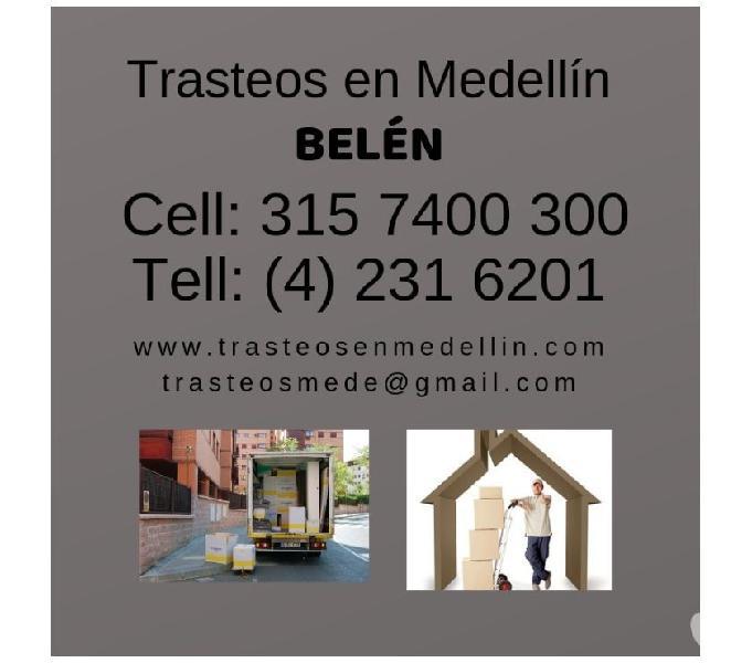 Trasteos en Medellin en BELEN