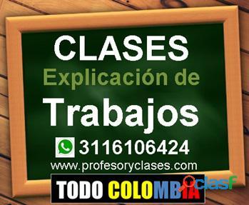 Profesor particular Finanzas a domicilio Medellin Contabilidad Excel Estadistica clases particulares