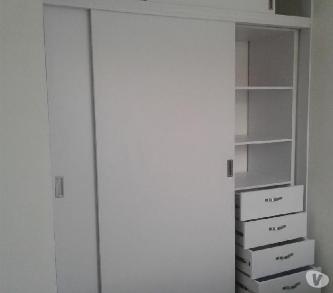 Closet en rh y meleminico puertas alcoba baño