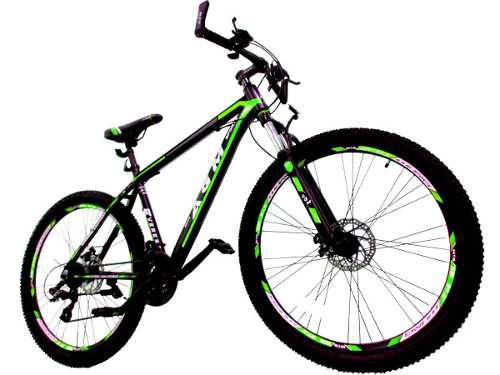 Bicicleta todo terreno aluminio shimano 24 vel. rin 29 + obs