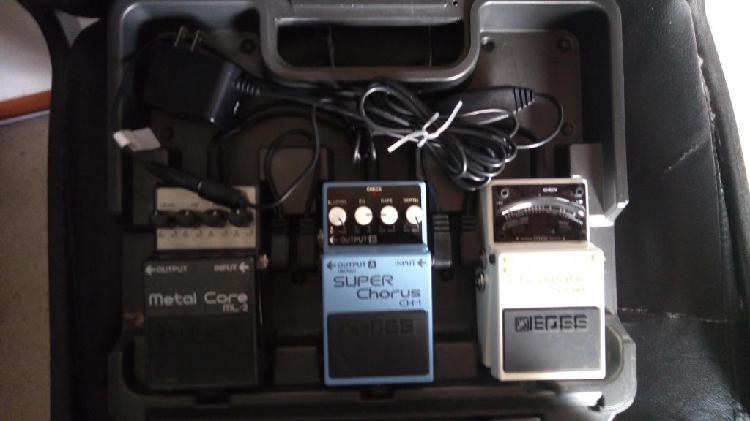 Boss pedalboard