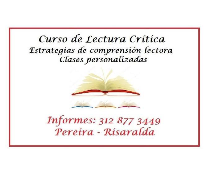 Curso de lectura crítica (comprensión de lectura) icfes