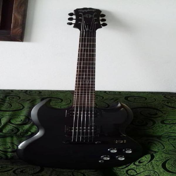 Guitarra epiphone sg goth series g 400