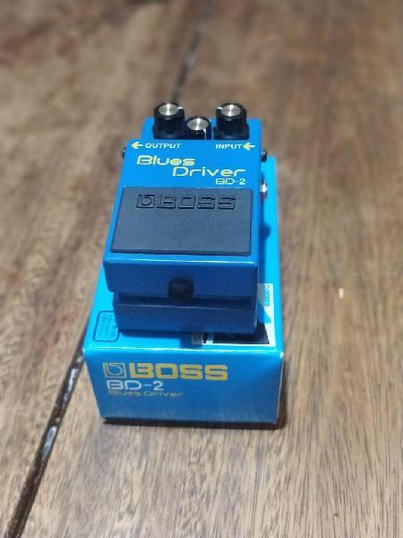 Pedal blues drive boss bd2 negociable