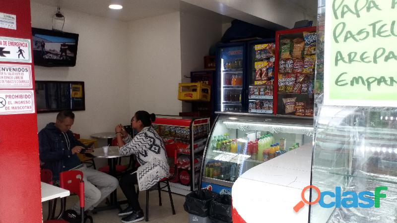Se vende negocio de comidas rápidas zona u
