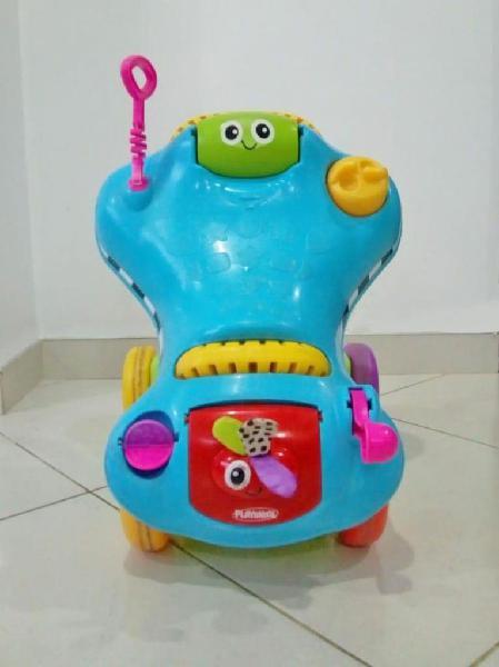 Carrito caminador bebe playskool 2 en 1