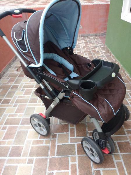 Coche bebé con silla para carro