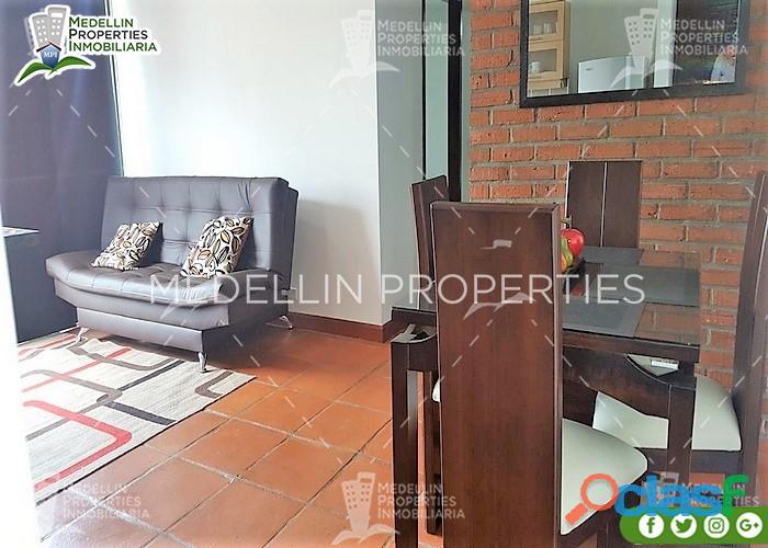 Furnished Apartment for Rental Poblado Cód: 4971