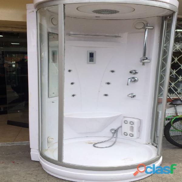 Vendo cabina tipo turco y sauna con sonido incorporado