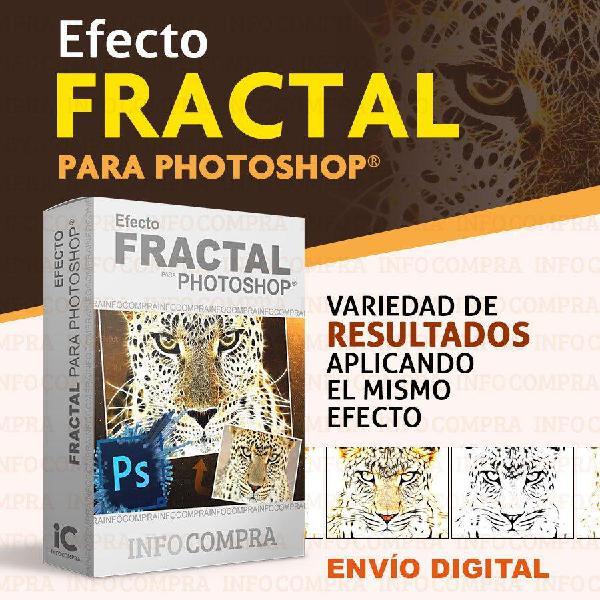 Plugin fractal para photoshop. ¡agrega efectos especiales a