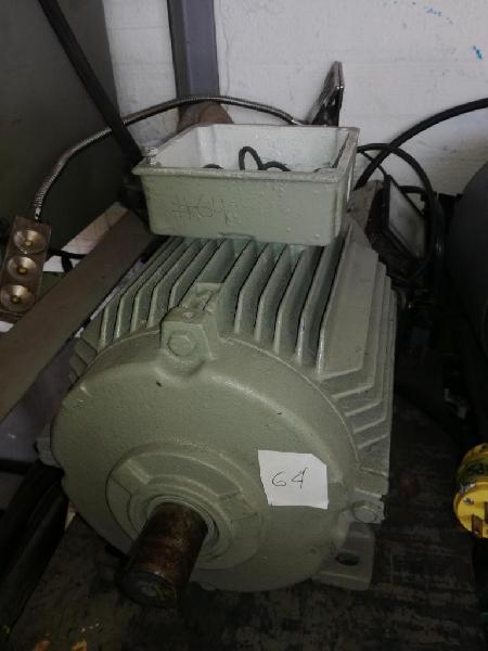 Motor de 1.5hp siemens 1700rpm trifasico usado economico