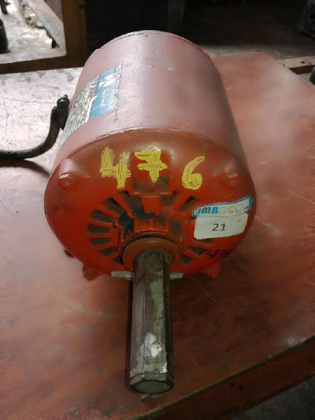 Motor electrico de 0.75hp browell 1700rpm 110v