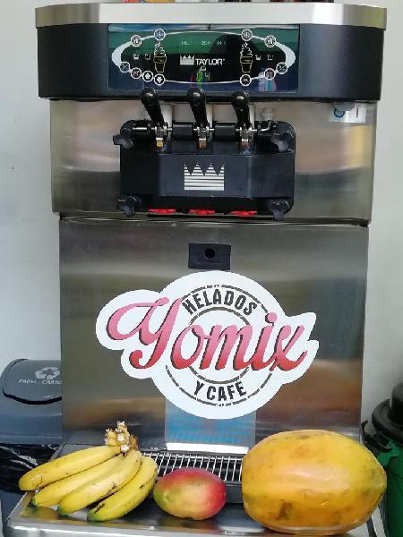 Maquina helado suave taylor 3 boquillas