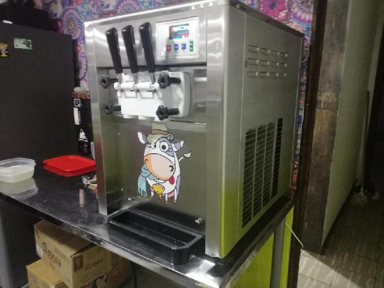 Maquina de helados vendo o permuto