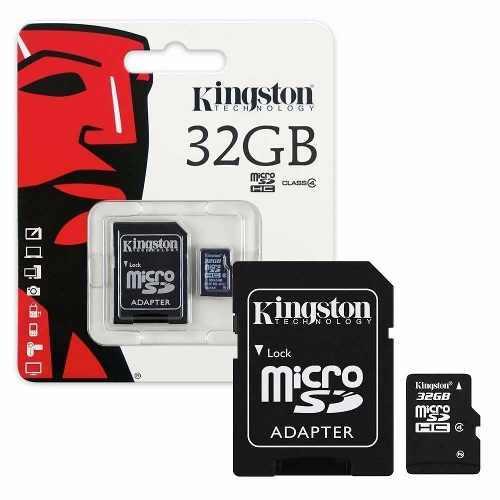 Memoria microsd 32gb kingston clase 10