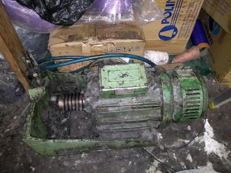 Motor trifásico y bifásico 3 hp