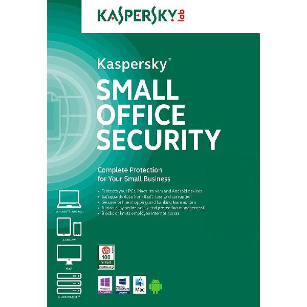 Antivirus kaspersky small office security 10 pc 1 server 2