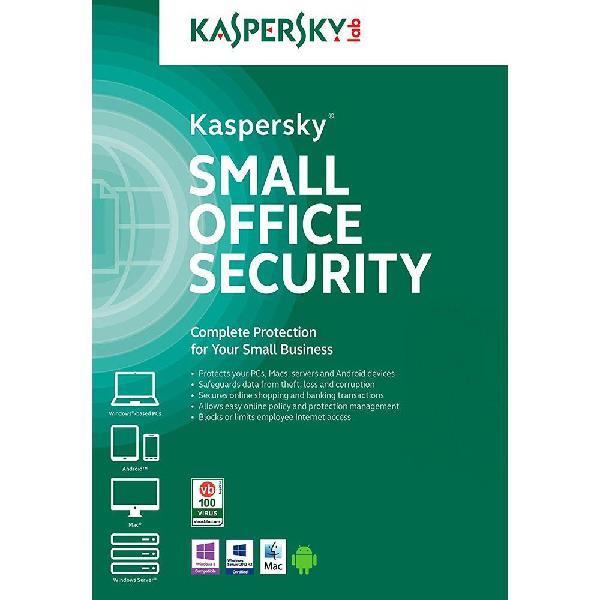 Antivirus kaspersky small office security 20 pc 2 server 1