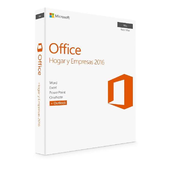 Office hogar y empresas 2016 en caja original visitanos en