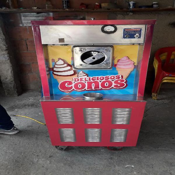 Vendo permuto maquina de helados de crem