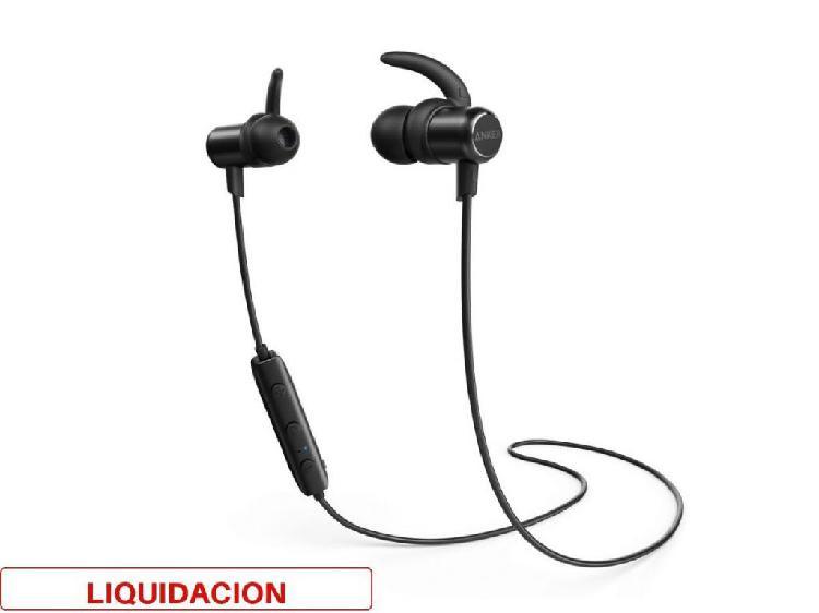 Audifonos bluetooth anker soundbuds flow 7 horas