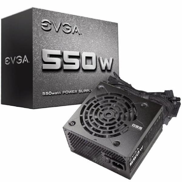Fuente de poder evga 550w reales