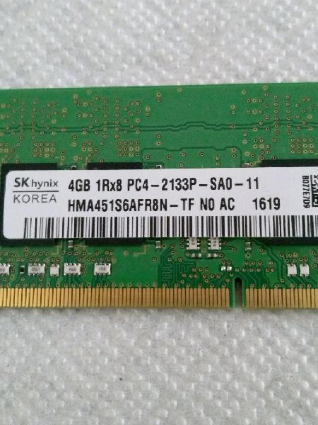 Memoria ram ddr4 4gb