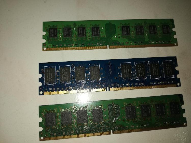 Memorias ram ddr2 2gb para pc