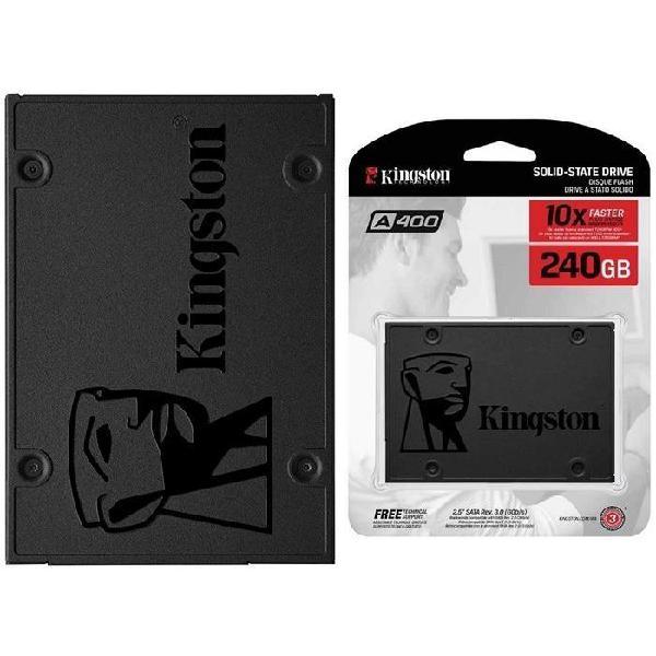Unidad disco estado solido a400 240 gb kingston