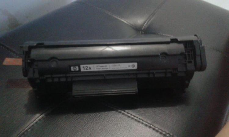 Toner hp original 12a negro