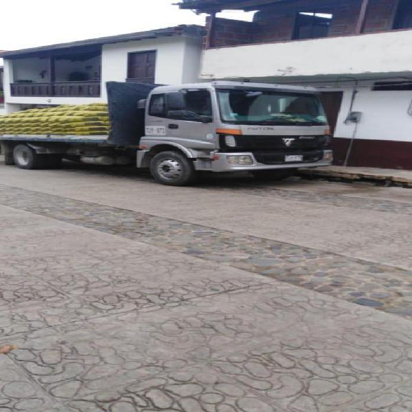 Camión planchón sencillo fotón auman 2012